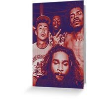 Flat Team - Flatbush Zombies Greeting Card