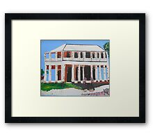 Glengallon Homestead Framed Print