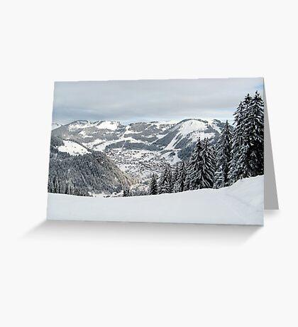 Alps 3 Greeting Card