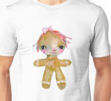 Gingerbread girl Unisex T-Shirt