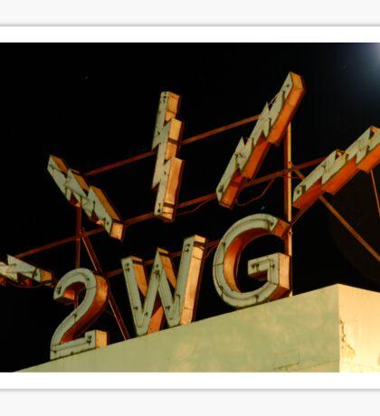2 wagga wagga.  1152 kHz AM Sticker