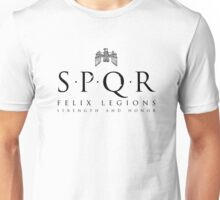 SPQR - Roman Empire Military Unisex T-Shirt