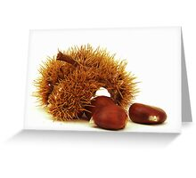 Excellent chestnuts Greeting Card