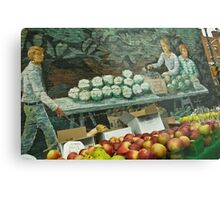The Fruit Stand Metal Print