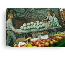 The Fruit Stand Canvas Print