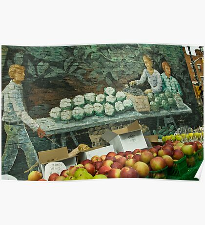 The Fruit Stand Poster