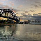 Morning Arrival - Sydney Harbour, Sydney Australia - The HDR Experience by Philip Johnson