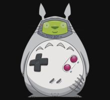Game Boy Totoro Baby Tee