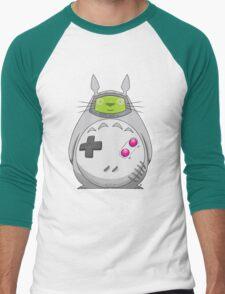 Game Boy Totoro Men's Baseball ¾ T-Shirt