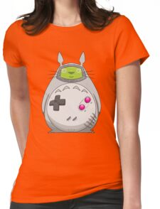 Game Boy Totoro Womens Fitted T-Shirt