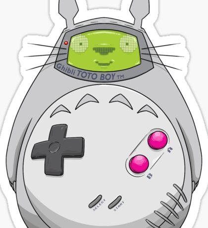 Game Boy Totoro Sticker