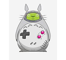 Game Boy Totoro Photographic Print