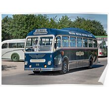 Royal Blue Coach Service Poster