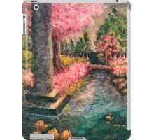 Cherry Tree and Tranquil Waters iPad Case/Skin