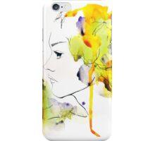 Watercolor Portrait Case 04 iPhone Case/Skin