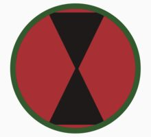 Logo of the 7th Infantry Division, U.S. Army Kids Clothes