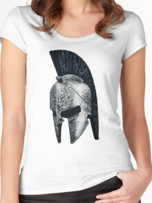 Spartan Helmet Women's Fitted Scoop T-Shirt