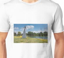 Windmill in a park Unisex T-Shirt