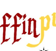 Harry Potter 'Gryffinpuff' Sticker