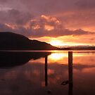sunset on the lakes by trudybabe