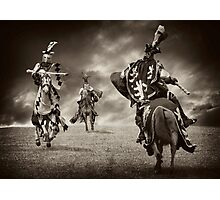 Battle Photographic Print