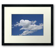 Use Your Imagination Framed Print