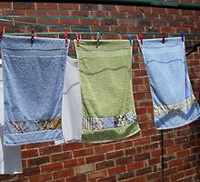 Drying In The Breeze. by joycee
