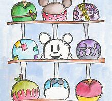 Caramel Apples by sammybaxterart