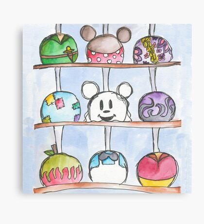 Caramel Apples Canvas Print