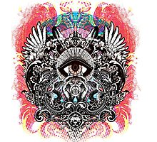 Mars Volta mystic eye Photographic Print