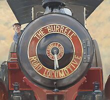 The Burrell Road Locomotive. by Richard Picton