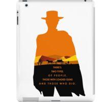2 Types of people iPad Case/Skin