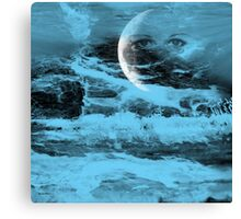 Every Breath You Take-Abstract art + Product Design Canvas Print