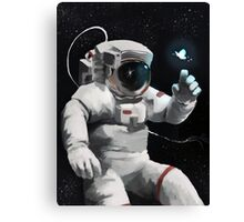 """Astronaut Dreaming""  Canvas Print"