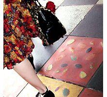 Acland Street Rose Photographic Print