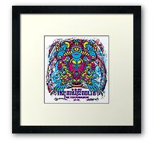 Wise Enlightened Mars Volta Framed Print