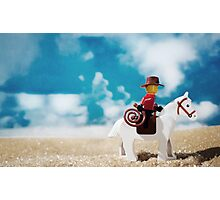 Untitled Cowboy Photographic Print