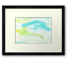 Color Therapy Framed Print