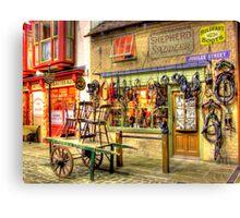Shepherd Saddler  - HDR Canvas Print