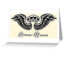 Swan Queen Logo Greeting Card