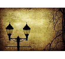 Street Lanterns Photographic Print