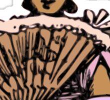 Fan Girl Sticker