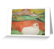 Aries The Ram Greeting Card