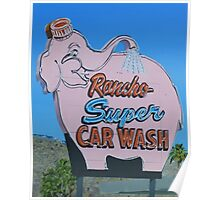 Rancho Super Car Wash Poster