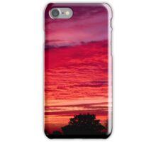 Crimson Sunset iPhone Case/Skin