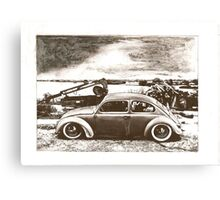 Jitter Bug Canvas Print