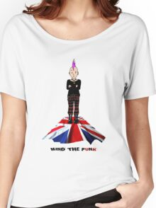 MIND THE PUNK (London Calling) Women's Relaxed Fit T-Shirt