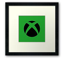 Xbox One Logo Products Framed Print