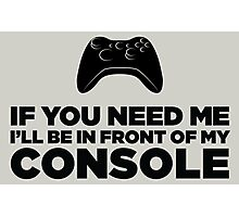 My Console Photographic Print