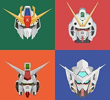 Gundam Poster Series by CynicalKimchi